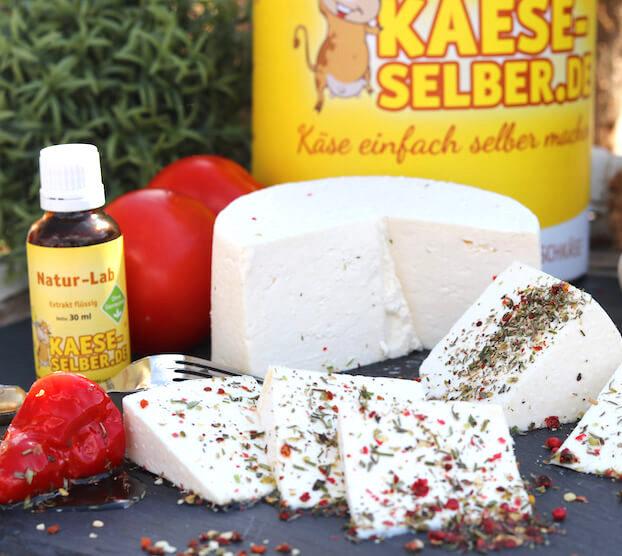 Käse selber machen Starter Set von KAESE-SELBER.DE